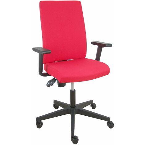Chaise rouge Lezuza aran à accoudoirs réglables