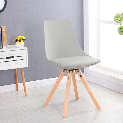 Chaise scandinave blanche - Minsk - Designetsamaison - Blanc