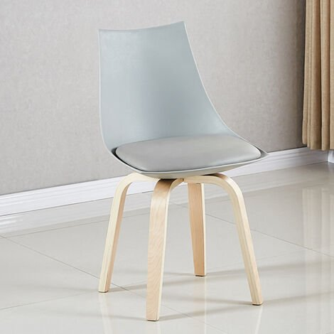 Chaise scandinave blanche - Nicosie - Designetsamaison - Blanc