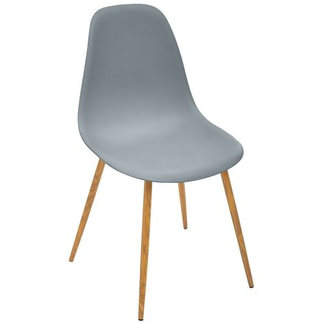 Chaise scandinave Taho gris - Gris