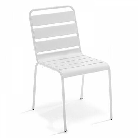 Chaise style industriel en métal, Palavas