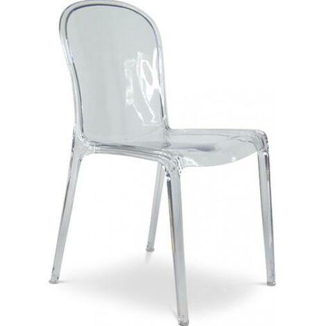 Chaise style Thalya - Inspiration Patrick Jouin Transparent