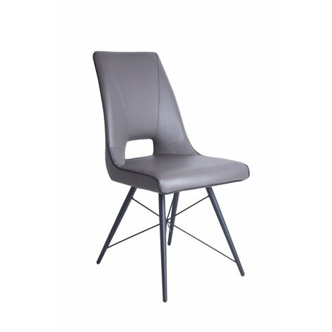Chaise taupe - VOGUE - Taupe