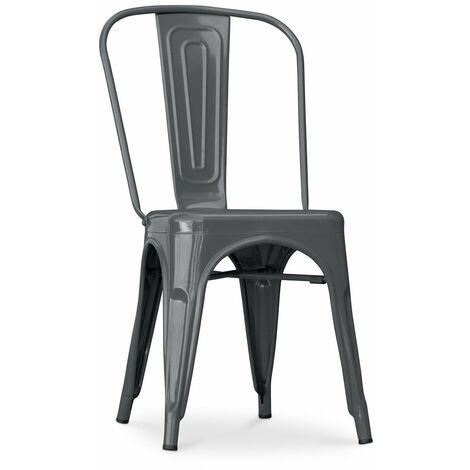 Chaise Tolix 5Kgs Pauchard Style Noir