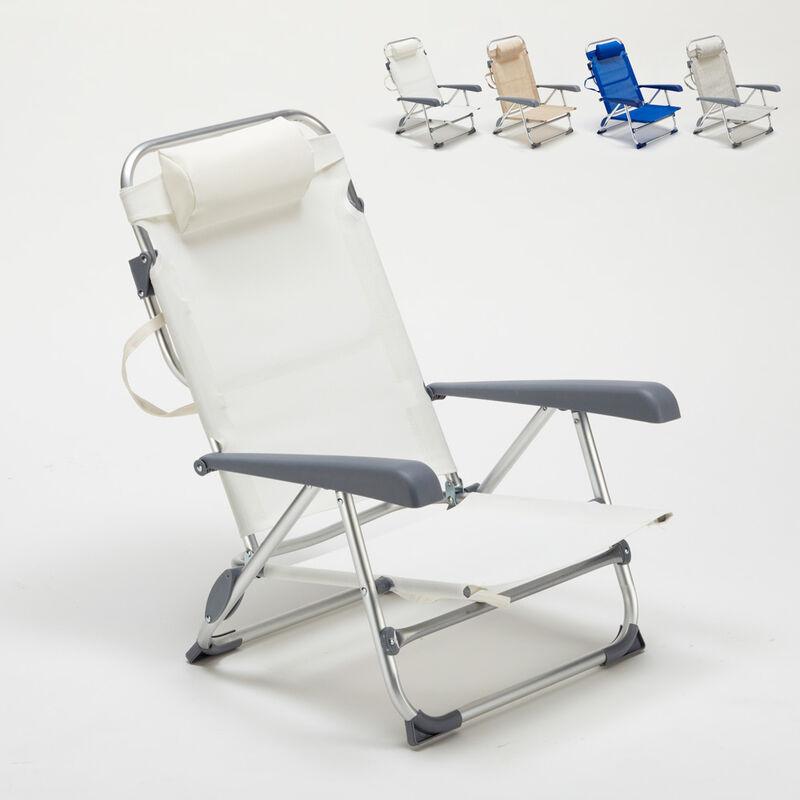 chaise transat de plage