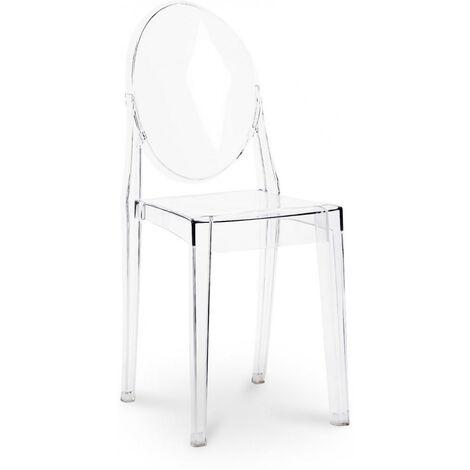 Chaise Victoria Blanc