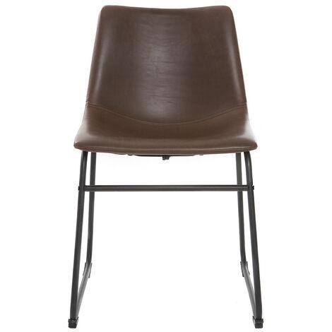 Chaise vintage métal NEW ROCK