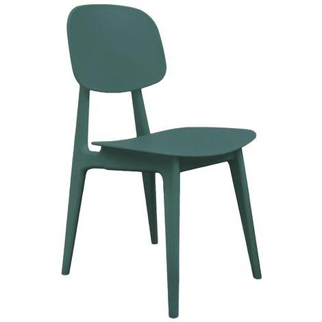 Chaise Vintage - Vert - Vert