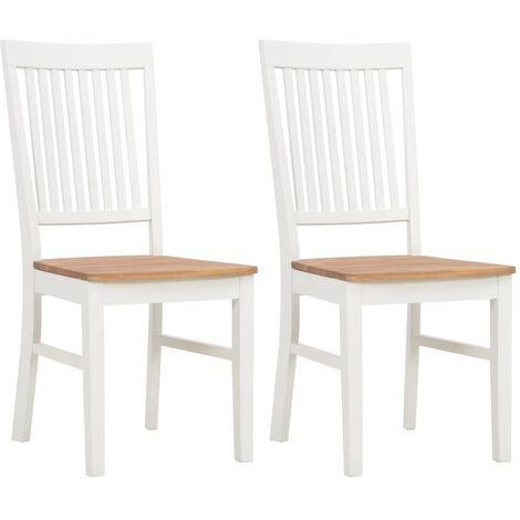 Chaise bois blanc à prix mini