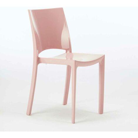 Chaises pour cuisine salle à manger bar brillante Grand