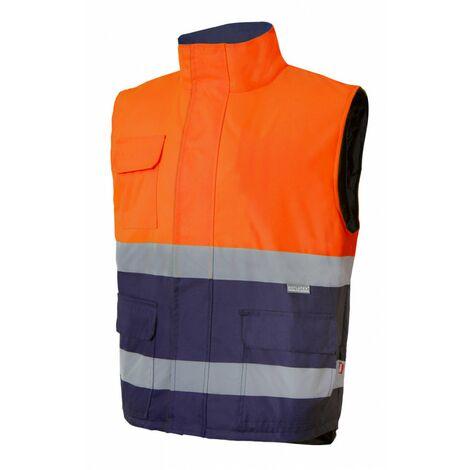Chaleco acolchado bicolor alta visibilidad Serie 305902