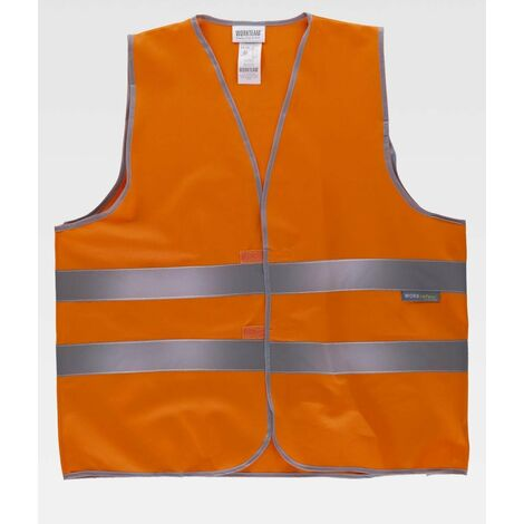 Chaleco reflectante naranja talla /única L
