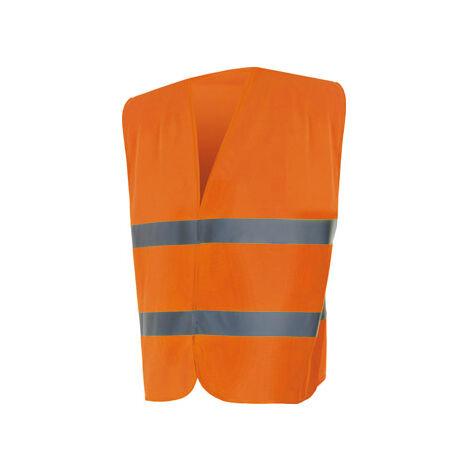 Chaleco Alta Visibilidad Velilla Naranja-M/L