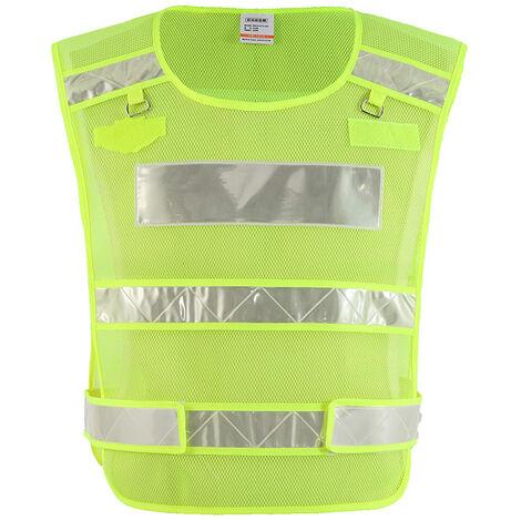 Chaleco de seguridad reflectante de alta visibilidad SFVest, ropa de trabajo anticongelante