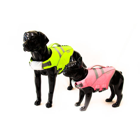 Chaleco Salvavidas Canino Verde