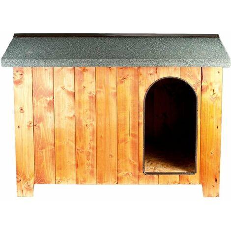 Chalet d'extérieur CHALET en bois de haute qualité pour chiens et chats avec plancher surélevé et déperlant Ferribiella