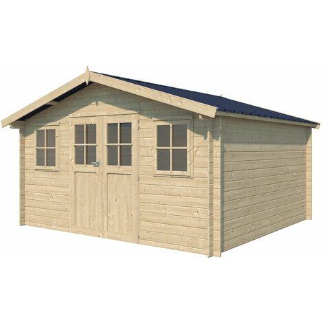 Chalet en bois 15.98 m² Ystad Avec gouttière