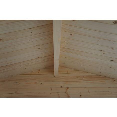 Colocación de las tablas del tejado