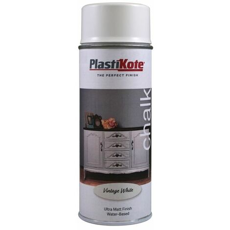 Chalk Finish Spray Vintage White 400ml (PKT27100)