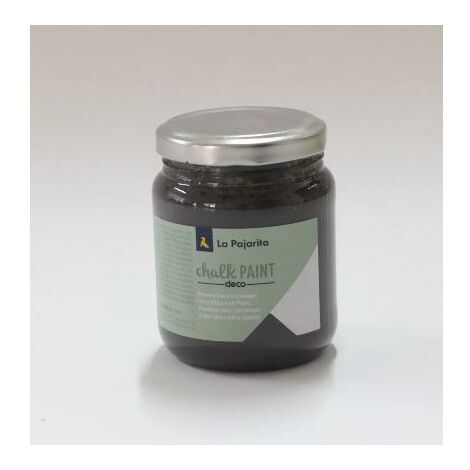 Chalk Paint casi negro La Pajarita 500 ml