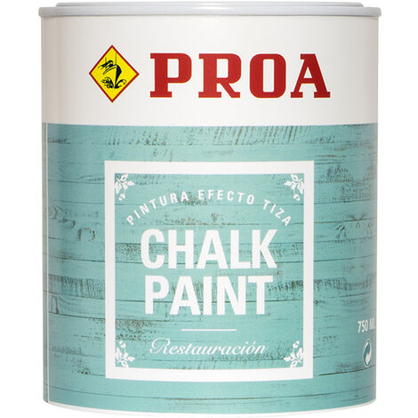 CHALK PAINT PROA AZUL OLD 750 ml, AZUL OLD 0.75lts