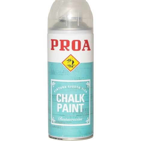 CHALK PAINT PROA BLANCO SPRAY, BLANCO 0.75lts