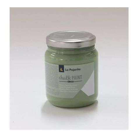 Chalk Paint verde bambú La Pajarita 500 ml