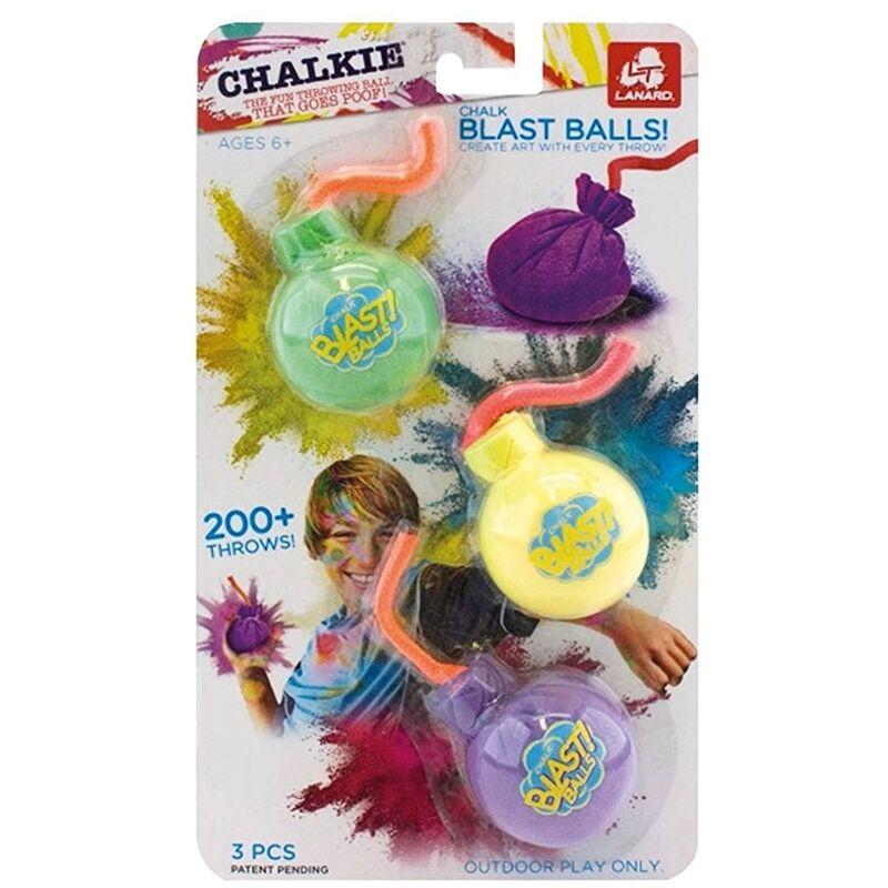 Image of 3 x Chalk Blast Balls - Chalkie