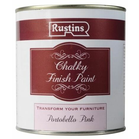 Chalky Finish Paint Portobello Pink 500ml (RUSCPPP500)