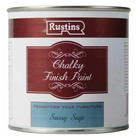 Chalky Finish Paint Savoy Sage 250ml (RUSCPSS250)