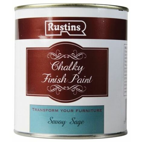 Chalky Finish Paint Savoy Sage 500ml (RUSCPSS500)