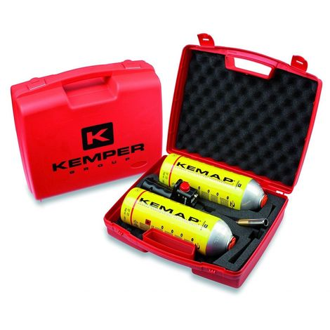 Chalumeau à gaz + 2 bouteilles de gaz kemap Brasage Pro