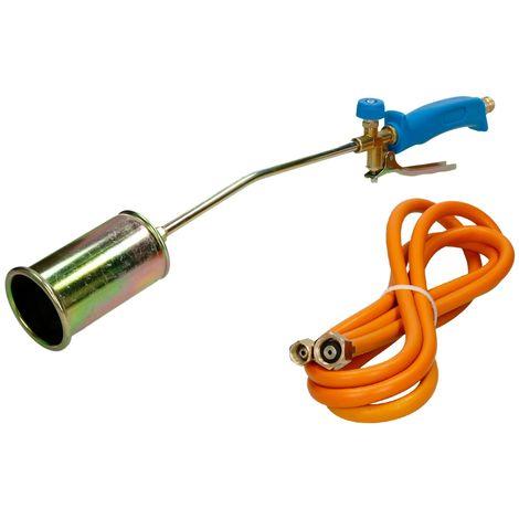Chalumeau à gaz torche + tuyau flexible 3m 58 KW désherbeur thermique brûleur
