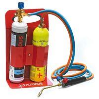 Chalumeau gaz KHW GASEX semi professionnel. Bouteille de gaz GASEX bouteille gaz oxygene lunette soudure inclus. Prêt à souder.