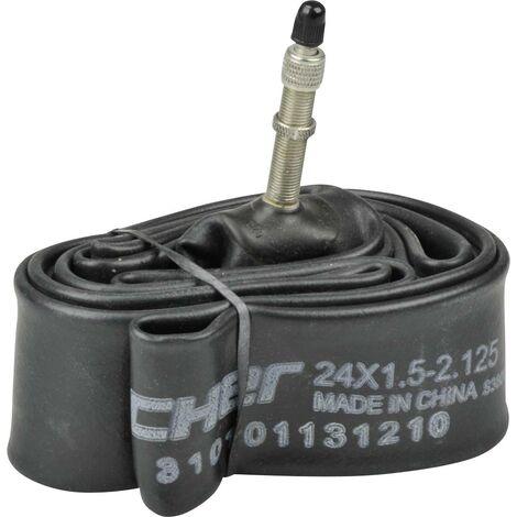 Chambre à air Fischer Fahrrad 85128 85128 24 pouces valve Dunlop (DV) 1 pc(s) D900121