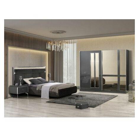 Chambre adulte complète TREND - Miroir