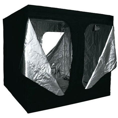 Chambre de culture 300 x 300 x 220 cm - 9 m² - Black Silver