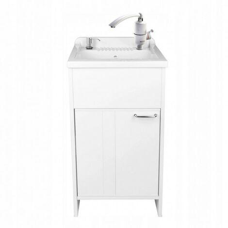 Chambre, évier, meuble évier, chauffe-eau 50x50