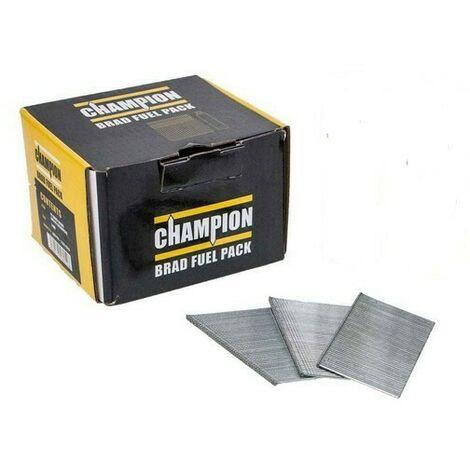 Champion 16G 38mm 2nd Fix Straight Galvanised Brad Nails 2000 PCs