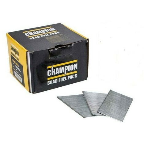 Champion 16G 64mm 2nd Fix Straight Galvanised Brad Nails 2000 PCs