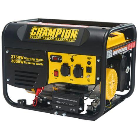 CHAMPION Groupe électrogène 3750W AVR CPG4000E1EU