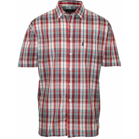 Champion Mens Beverley Casual Short Sleeve Shirt (Pack of 2)