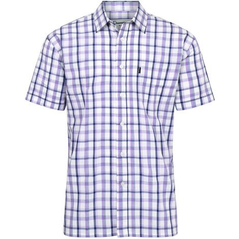 Champion Mens Bude Country Casual Short Sleeve Shirt