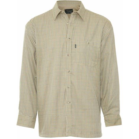 Champion Mens Cartmel Fleece Lined Long Sleeve Shirt