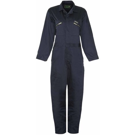 Champion Mens Classic Heavy Duty Cotton Twill Blend Boilersuit Overalls 1688