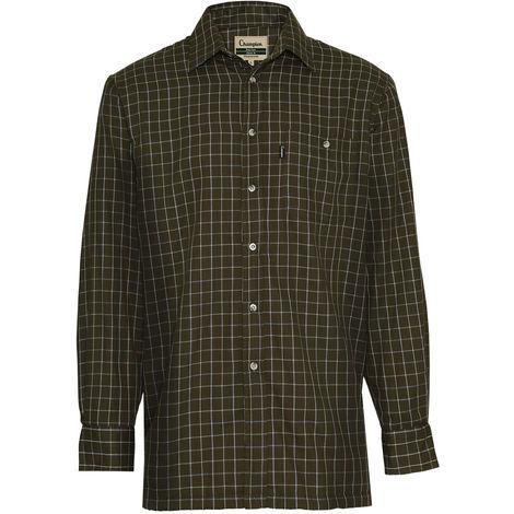 Champion Mens Country Chatsworth Casual Long Sleeve Shirt