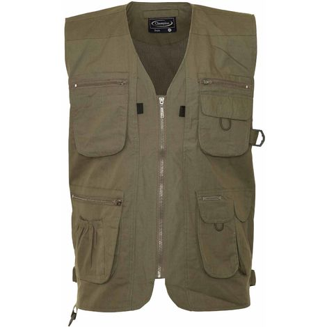 Champion Mens Dale Country Clothing Polycotton BodyWarmer