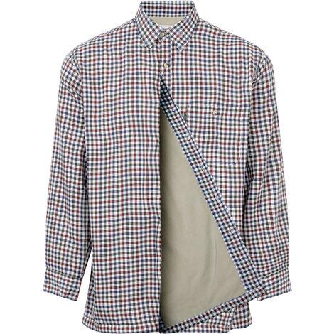 Champion Mens Heathfield Country Fleece Lined Long Sleeve Shirt