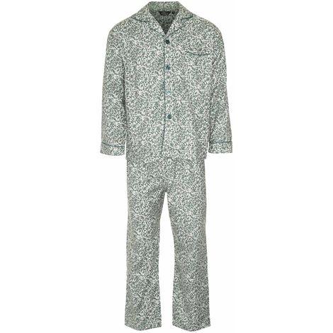 Champion Mens Paisley Warm Brushed Cotton Pyjama Lounge Wear