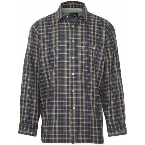 Champion Mens Sherborne Fleece Lined Long Sleeve Shirt